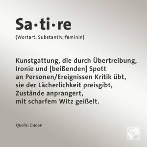 Satire Definition